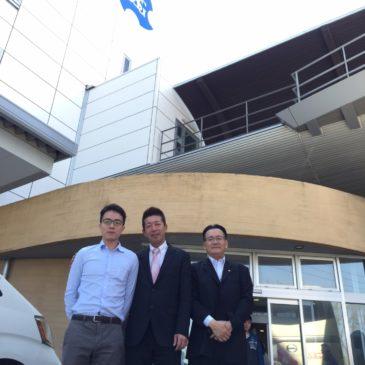 (4月份) 本司與日本OSG本社交流,進行技術討論