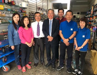 歡迎『大寶OSG』 – 日本駐台董事長與營業副總參訪